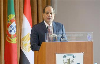 السيسي: لا توجد معسكرات للاجئين في مصر