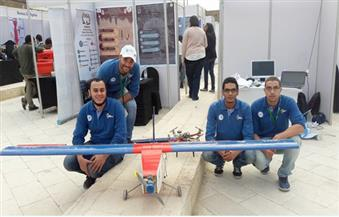 تعرف على مخترعي هندسة الإسكندرية.. طوروا طائرة مساعدات.. ويمثلون مصر بمسابقة عالمية
