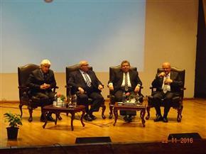 رئيس جامعة الزقازيق يشارك فيورشة الحوار المجتمعي لتطوير التعليم