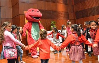 """بالصور.. """"الأراجوز والساحر"""" في احتفالية مجلة """"علاء الدين"""" بعيد الطفولة.. بحضور أكثر من 500 طفل"""