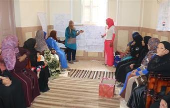 بالصور.. لقاءات توعية  بقرية دوينة لمكافحة عمالة الأطفال فى أسيوط