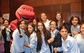 """بالصور.. """"علاء الدين"""" تحتفل بأعياد الطفولة مع أكثر من ٥٠٠ طالب وطالبة بمؤسسة الأهرام"""