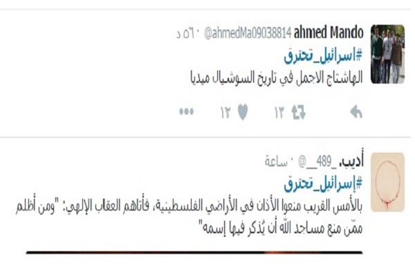 """نتيجة بحث الصور عن هاشتاج """"إسرائيل تحترق"""" الأكثر تداولا على """"تويتر""""..والمغردون: انتقام الله"""