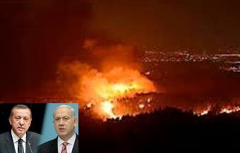"""نتنياهو يشكر أردوغان لإرساله طائرات للمساعدة في إخماد """"حرائق إسرائيل"""""""