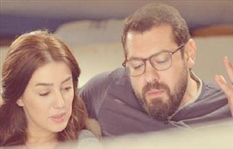 عمرو يوسف وكندة علوش: بنتنا وصلت بالسلامة