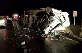 محافظ قنا: إصابة 15 شخصًا في حادث طريق قنا سوهاج