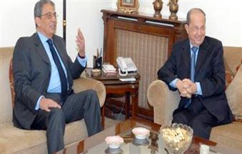 رئيس مجلس النواب اللبناني يستقبل عمرو موسى