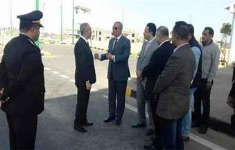 بالصور.. وزير العدل ومحافظ البحر الأحمر يتفقدان الخدمات الأمنية بكمين المطار بالغردقة