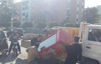 بالصور..  شرطة المرافق بالقاهرة تواصل حملاتها لإزالة الإشغالات بكافة مناطق العاصمة