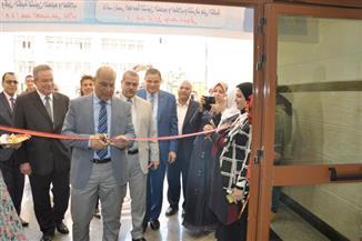 بالصور.. رئيس جامعة كفرالشيخ يفتتح كلية الألسن