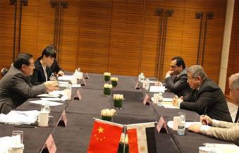 بالصور.. الشيحي يلتقى وزير العلوم والتكنولوجيا الصينى فى بكين