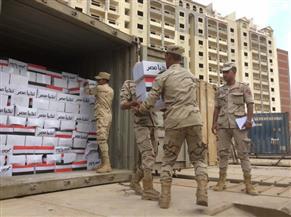 """""""حجازي"""": القوات المسلحة توزع كرتونة غذائية بنصف الثمن لمواطني أسوان"""