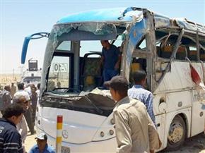 استقرار حالة التلاميذ المصابين في حادث أتوبيس مدرسة اللغات بأدفينا داخل مستشفى مطوبس