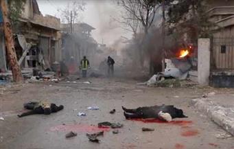 بالصور.. الجثث تتناثر في شوارع حلب بعد هجوم اليوم