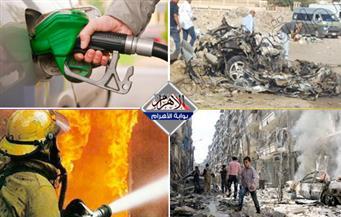 انفجار بمدينة نصر.. حريق بالبرلمان.. مناقشة زيادة أسعار المحروقات.. مساعدات حلب بنشرة 3