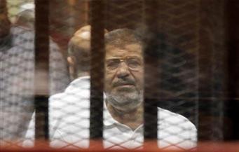 """تأجيل إعادة محاكمة """"مرسي"""" وقيادات الإخوان في قضية اقتحام السجون إلى 16 يوليو"""