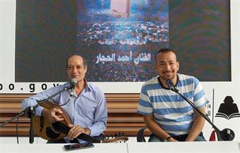 بالصور.. ليلة أن عاد الإبداع من بعيد.. الحجار وناصر أحيا زمن الأصالة في قلوب الجزائريين