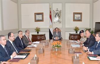 السيسي يجتمع برئيس الوزراء ومحافظ البنك المركزي لبحث جهود الجهات الرقابية لمكافحة الفساد