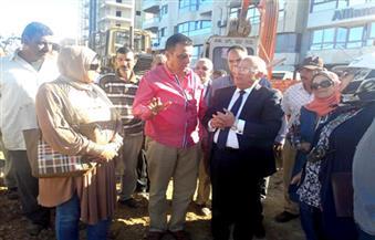 """محافظ بورسعيد: افتتاح تطوير ورفع كفاءة منطقة """"ديليسبس"""" في عيد بورسعيد القومي"""