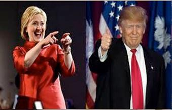 كلينتون تتفوق  على ترامب بفارق بسيط قبل ساعات من الانتخابات الأمريكية