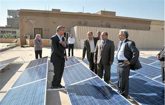 جابر نصار: افتتاح محطة الطاقة الشمسية بجامعة القاهرة بقدرة 650 كيلووات