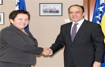 السفير المصري يلتقي وزيرة الدفاع البوسنية لبحث التعاون العسكري