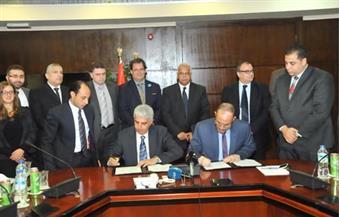 """توقيع عقد أعمال السكة الحديد للمرحلة الثالثة للمترو """"العتبة - إمبابة – بولاق الدكرور"""""""