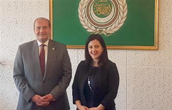 سفير الجامعة العربية في جنيف يلتقي مديرة مكتب الأمم المتحدة للمرأة لبحث التعاون المشترك