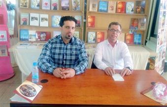 """بالصور.. عماد الدين سعيد في ختام """"معرض الكتاب العربي"""" بلبنان: بالكلمة نرد على الإرهاب"""