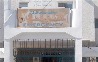 لجنة تتفقد مستشفى سفاجا للتأكد من تطبيق الإجراءات الوقائية