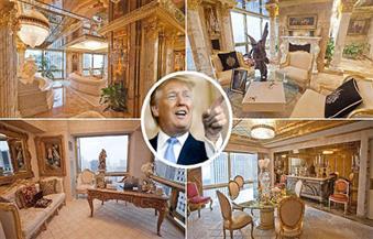 """بالصور.. تعرف على قصر ترامب ملياردير """"البيت الأبيض"""""""