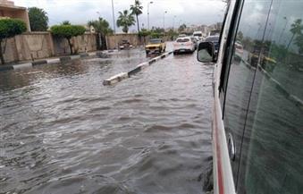 بالصور.. غرق مناطق متفرقة من الإسكندرية بسبب الأمطار الغزيرة