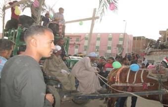 """بالصور .. 4 مسيرات للأهالي والطرق الصوفية  احتفالًا بالمولد النبوي الشريف في """"أسوان"""""""