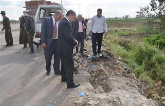 """بالصور.. محافظ كفر الشيخ:""""لن يفلت مرتكبو حادث انفجار الطريق الساحلي من العقاب"""""""