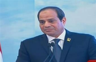 زوجة أحد الشهداء للسيسي: مصر ستتجاوز أزمتها بإرادة شعبها