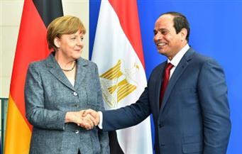 السيسي وميركل يفتتحان محطة كهرباء البرلس بتكاليف 2 مليار يورو وبطاقة 4800 ميجاوات عصر اليوم