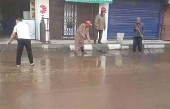 بالصور.. موجة من الطقس السيئ و الأمطار تضرب بعض قرى ومدن محافظة المنوفية