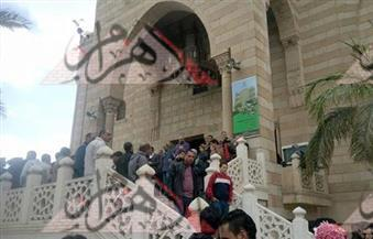 . تشييع جنازة الفنان أحمد راتب من مسجد الحصري بأكتوبر