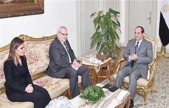 رئيس التمويل الدولية للسيسي: متفائل بمستقبل مصر والإجراءات الاقتصادية تُشجع المستثمرين