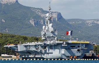 عودة حاملة الطائرات الفرنسية شارل ديجول إلى فرنسا