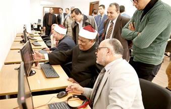 المفتي يزور سفارة المعرفة التابعة لمكتبة الإسكندرية
