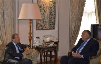 شكري يؤكد لكوبلر محورية اتفاق الصخيرات كأساس لاستعادة الاستقرار في ليبيا