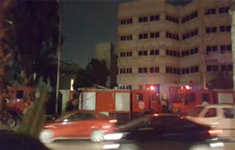 السيطرة على حريق بجوار ديوان محافظة الجيزة