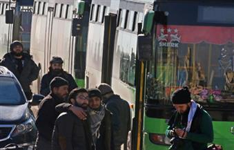 بدء دخول الحافلات إلى شرق حلب لاستئناف عمليات الإجلاء