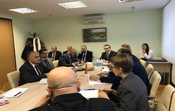 تنمية محور قناة السويس.. ومشروع 1.5 مليون فدان.. على مائدة اجتماعات وزير الري في بيلاروسيا