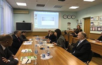 وزير الري يبحث مع مسئولي بيلاروسيا دعم الشبكة القومية لمراقبة المياه الجوفية بالصحراء الغربية
