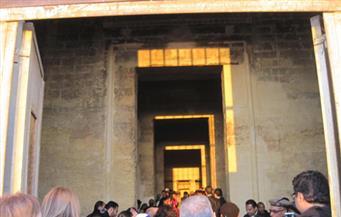 الفيوم تستعد للاحتفال بتعامد الشمس على قدس الأقداس بمعبد قصر قارون