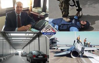 حادث الأزهر.. مقتل 57 صحفيًّا.. حوار وزير الثقافة الجزائري.. تحطم طائرة.. بنشرة التاسعة