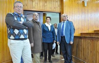 بالصور.. رئيس جامعة كفر الشيخ يتفقد المرحلة الثانية من كلية الألسن تمهيدًا لافتتاحها