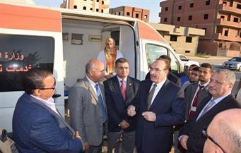 """افتتاح بنك الدم الإقليمي بتكلفة 300 مليون جنيه لخدمة مستشفيات """"بني سويف"""""""